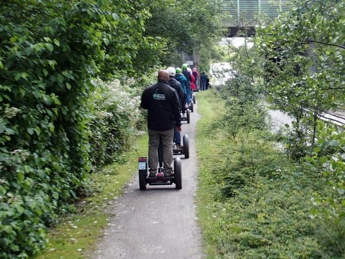 Bottrop: Segway-Tour auf die Halde Haniel (150 Min)