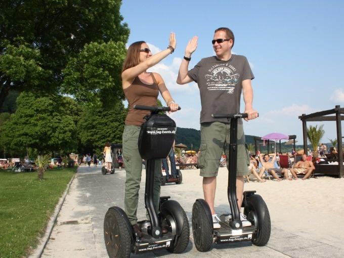 Düsseldorf: VIP-Segway-Tour (max.120 Min)