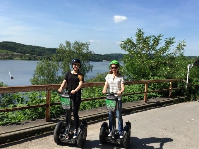 Essen: Segway Tour - Große Baldeneysee-Tour (max. 150 Min)
