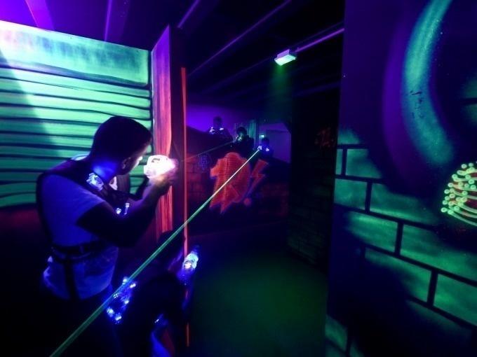 Partie standard - Lasergame Vitré