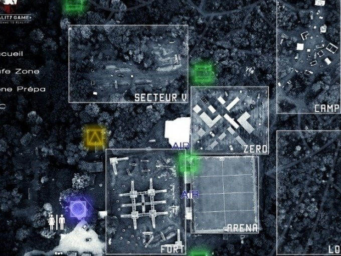 Le Paintball location connectée chez Reality game 2 heures
