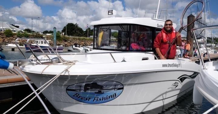 Demi Journée en Rade de Brest - Brest Fisching