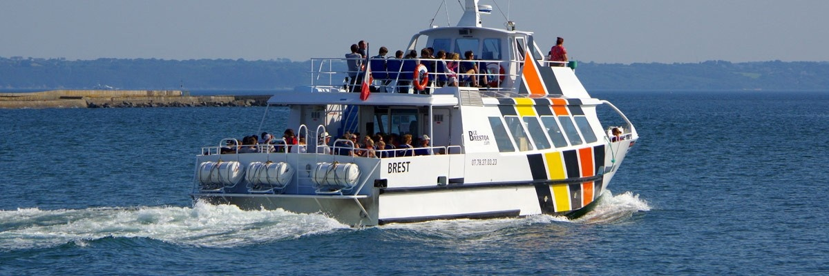 LIaison Maritime : Le Fret - Brest - Le Brestoa