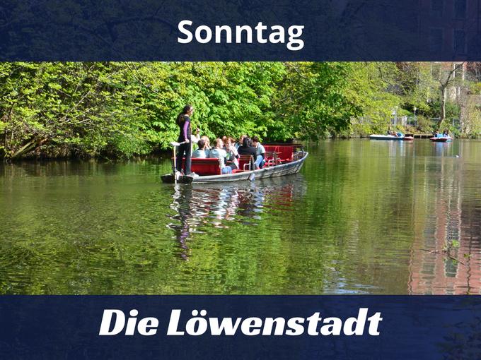 Okerfahrt Braunschweig Die Lowenstadt Vom Wasser Aus