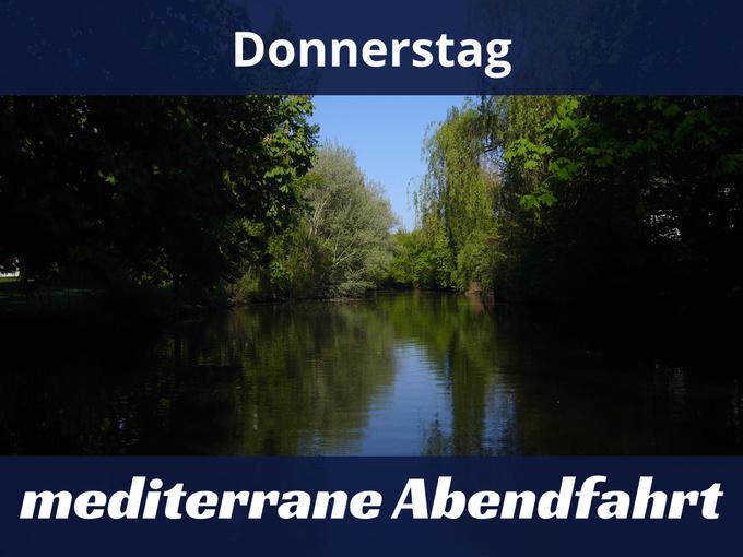 Flossfahrt Braunschweig Mediterrane Abendfahrt Auf Der Oker