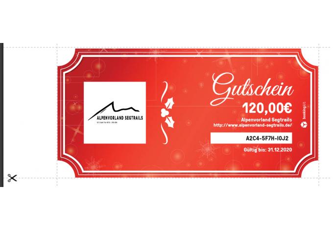 b3105df97b185a Gutschein zum selbst ausdrucken - Alpenvorland Segtrails
