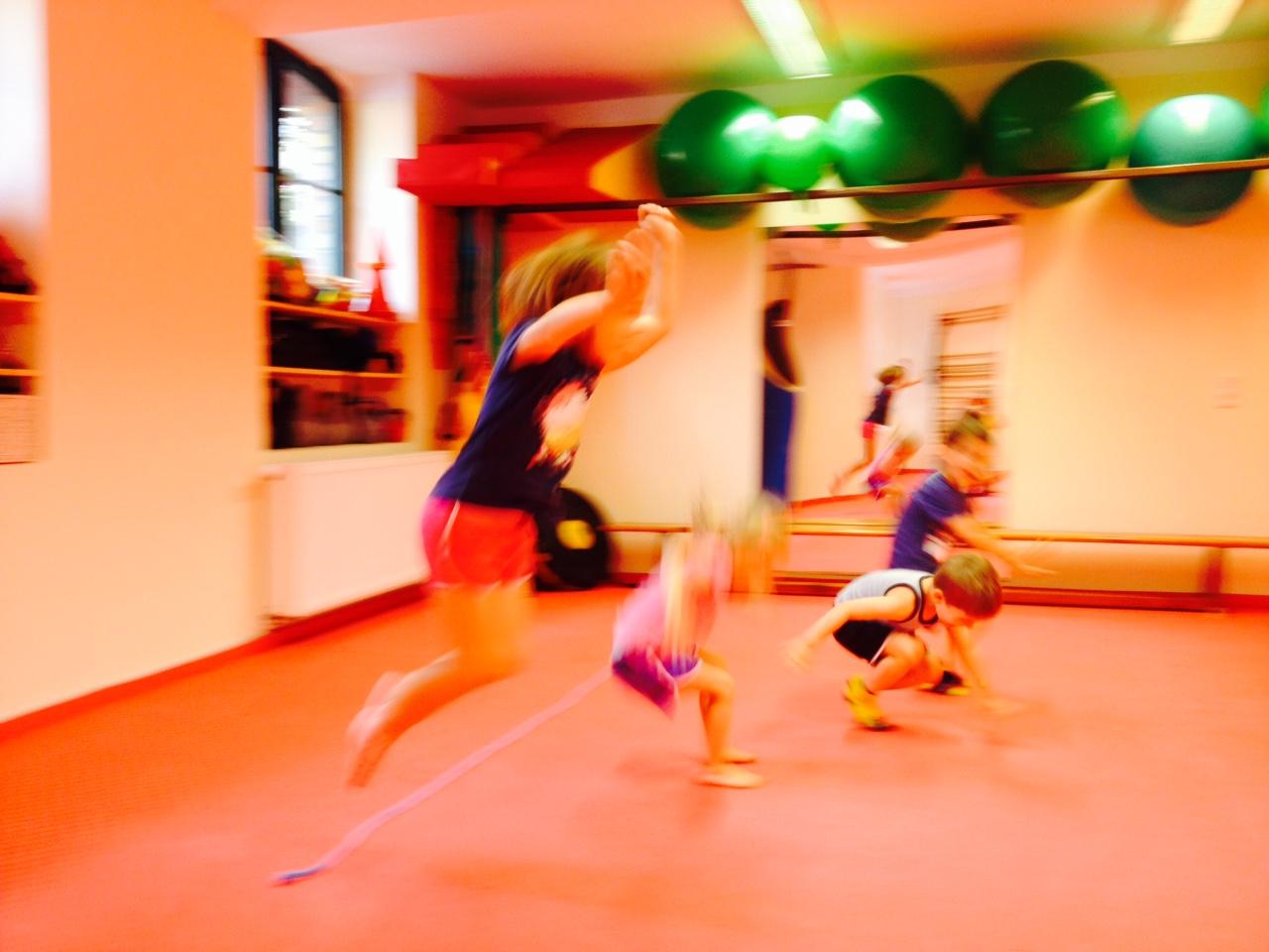 Kindersport für Kinder von 5 bis 6 Jahre