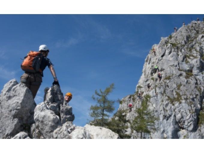 Klettersteig Drachenwand : Stefanbrunner at drachenwand klettersteig mit bergführer ab u ac