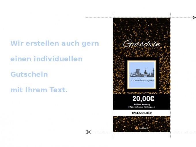 Gutschein Ausdrucken Führung Verschenken Schönes Hamburg