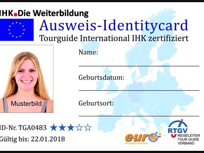 Termin Reiseleiter Ihk Zertifiziert Eröffnungsmodul Rtgv